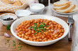chickpeas stewed in tomato sauce