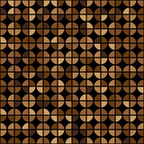 Coffee Colors Rings Diagram Seamless Pattern