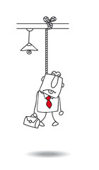 Suicide of the businessman