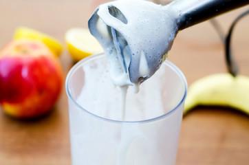 to shake up a nimbus milkshake