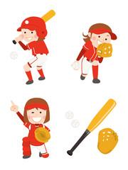 ソフトボール 女性