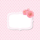 Pink Rose Label