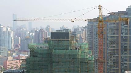 Shanghai Baustelle