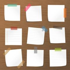 Sticks note paper