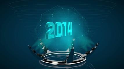 2014 Hologramm