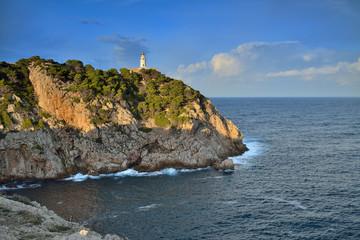 Leuchtturm Cala Ratjada Mallorca Sapnien