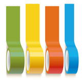 set of color scotch adhesive tapes
