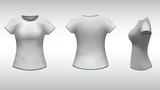 ladies t-shirt  with short sleeves