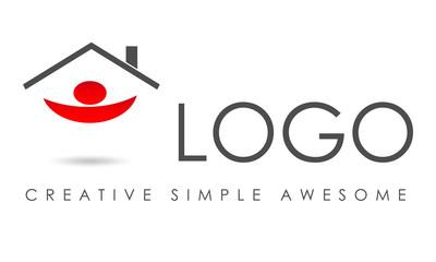 Business logo house