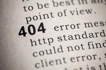 http 404 error