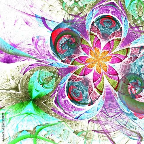 kolorowy-dwa-fraktal-kwiat
