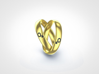 gay marriage male ring