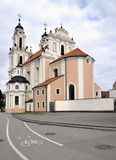 St. Catherine Church in Vilnius, Lithuania