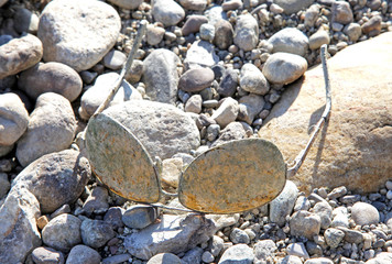 Old sunglasses