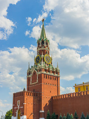 Spasskaya (Saviour) Tower of the Moscow Kremlin