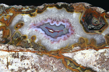 detail of nice agate mineral background