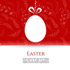 Easter design template
