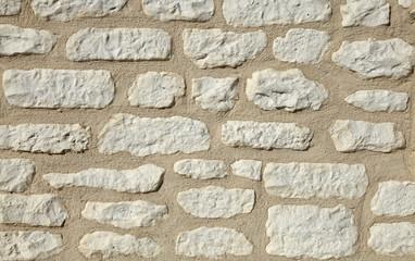 mur à moellons