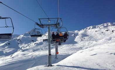 На подъеме в Альпах
