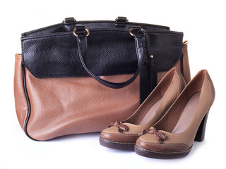 Woman bag and shoes