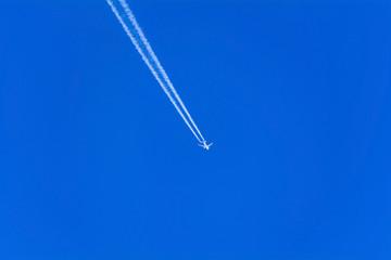 Scia d'aereo intercontinentale