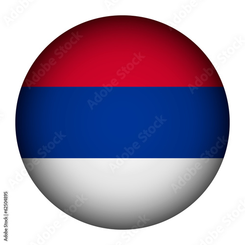 Serbia flag button.