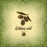 Olive label design