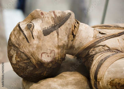 Leinwanddruck Bild egyptian mummy