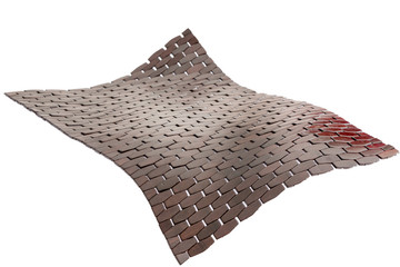 Flying Threshold bamboo bath mat