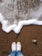 walk on the seaside