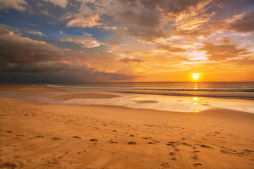 Sunset ebb