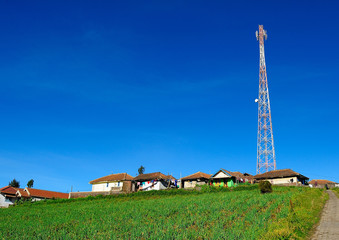 Telecommunication Antenna at Countryside Village