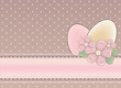 Easter festival banner, vector illustration