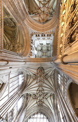 roof of canterbury cathedral