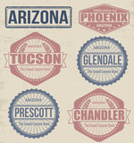 Arizona cities stamps
