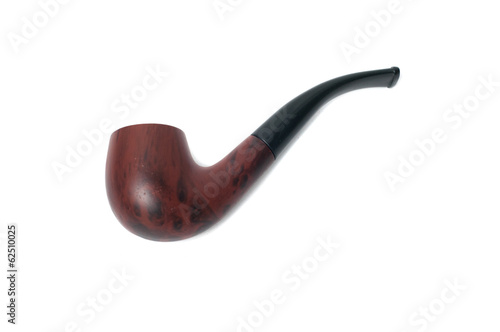 Smoke Pipe on White Background
