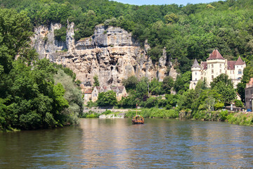 La Roque Gageac is one of France's most beautiful villages