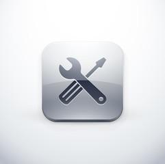icône bouton internet réparation bricolage