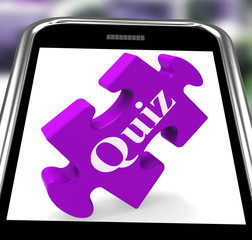 Quiz Smartphone Means Internet Question And Answer Game