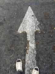 go straight