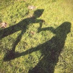 Schatten in Herzform