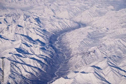 Leinwandbild Motiv Frozen River