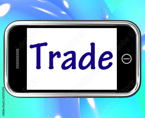 Trade Smartphone Shows Online Buying Selling And Shops