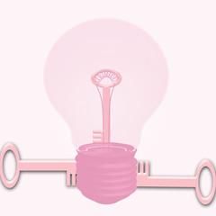 lampadina chiave