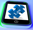 Law Smartphone Means Legislation And Justice Information Online