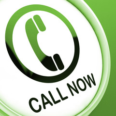 Call Now Button Shows Talk or Chat