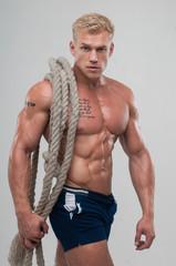 Male model Serge Henir