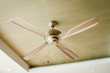 Picture of ceiling fan inside the living room