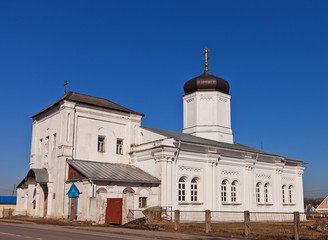 Dormition of the Theotokos church (1859). Gzhel, Russia