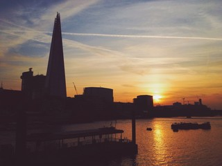London / Sonnenuntergang